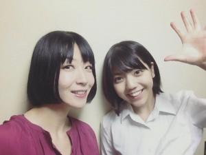高見 綾、兼田 いぶきちゃん